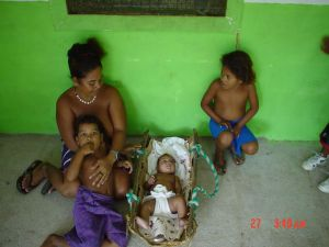 Yap mother and children